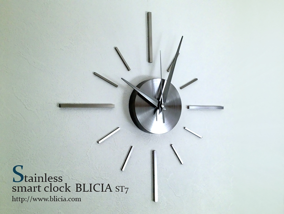 モダン壁掛け時計高級デザイナーズクロックBLICIA ST7画像1